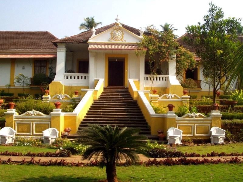 Palcio do deo quepem goa india for Architecture design for home in goa